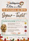 SOPAR-TASTET 7a FIRA DE LA NOU A MONTESQUIU