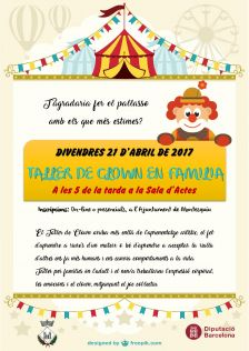 Cartell taller de clown