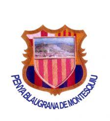 Logo Penya Blaugrana de Montesquiu