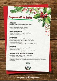 Programació festes